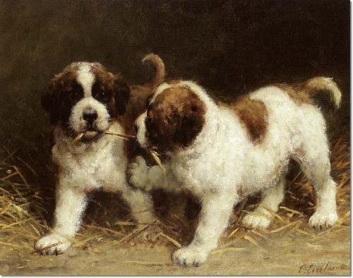 Dogs Oil Paintings For Sale Wholesale Oil Paintings Online