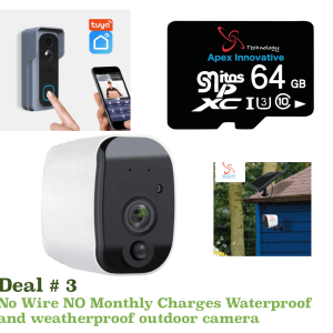 Wifi Security Cameras Customize Kit- Buy What You Need