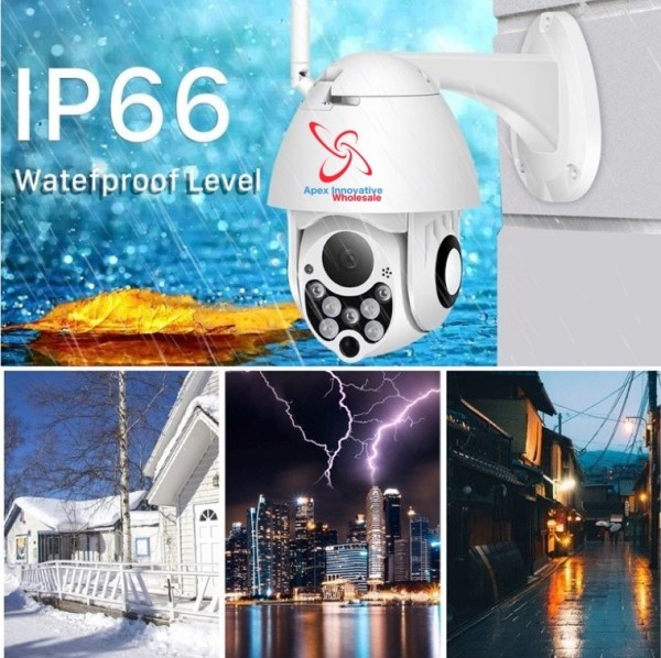 AWT2019OPTZ - Outdoor Auto-tracking Floodlight Security camera - Wholesale Products pro