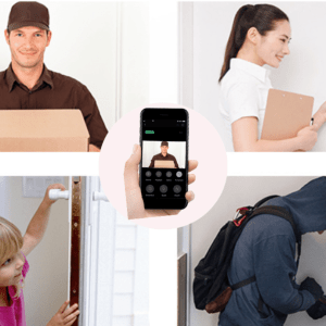 720p DoorBell with Chime – Completely Wireless  with Free Cloud Storage for 7 Days