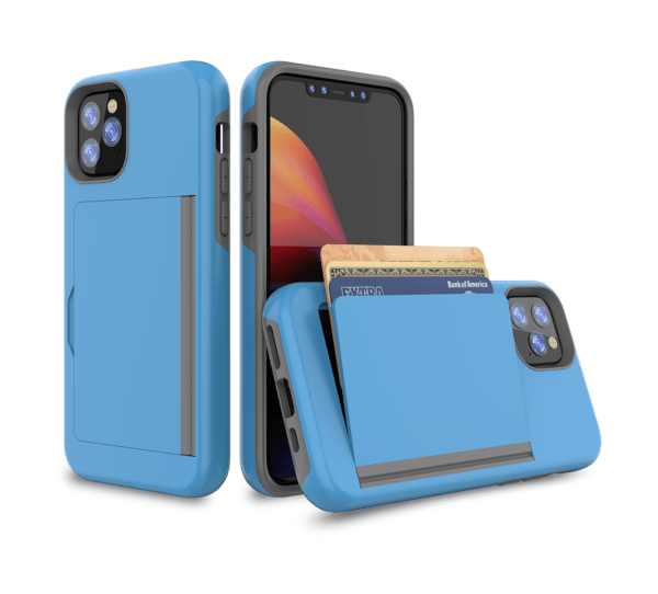 Ultra thin credit card slot holder mobile phone case - Wholesale Products Pro