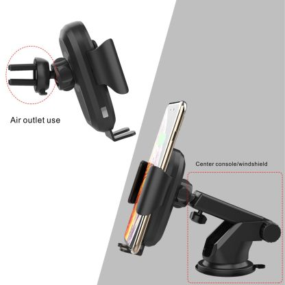 Car Dash mobile phone wireless charger and infrared holder - Wholesale Products Pro