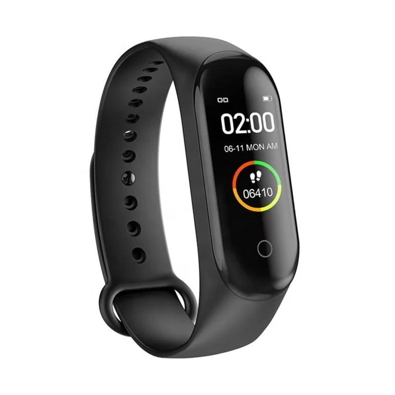 M4 bracelet - Black Smart Heart rate monitor