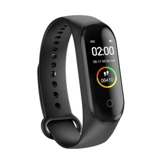 M4 bracelet - Black Smart Heart rate monitor