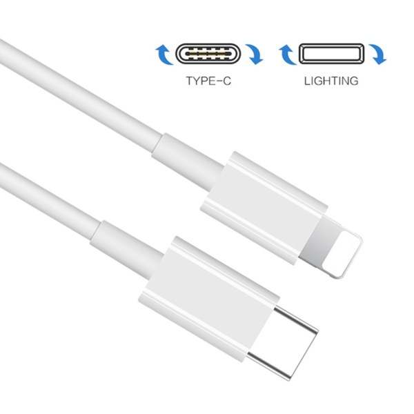 PD Fast Charger USB C-Type to Lighting Cable for Iphone