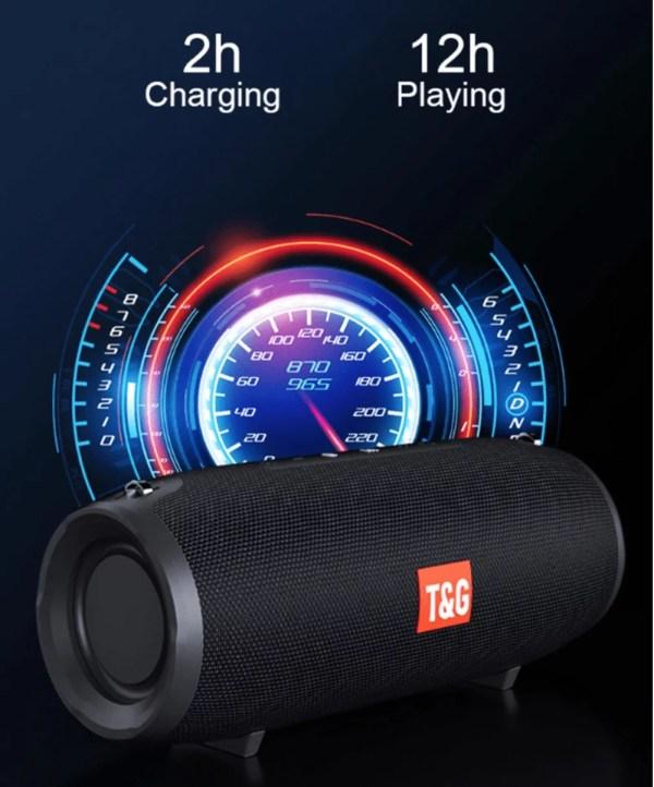 medium size - high volume Bluetooth speaker - subwoofer - stereo