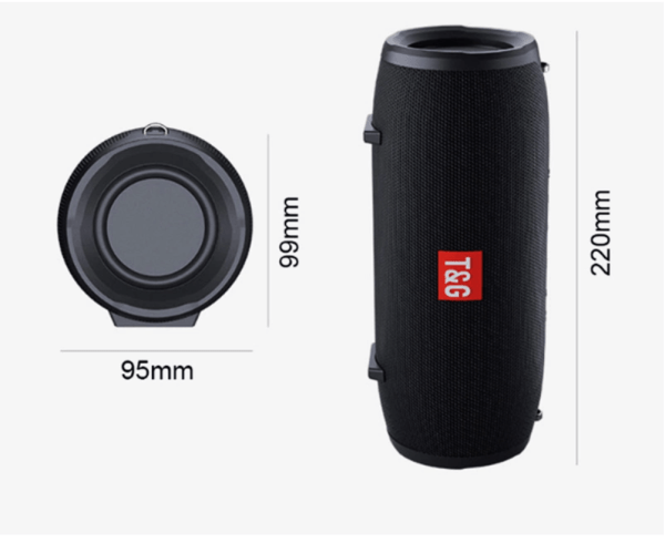 medium size - high volume Bluetooth speaker - subwoofer - stereo - Wholesale Products Pro