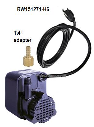 mk diamond 151271 mk pump replacement rw151271 h6 pump