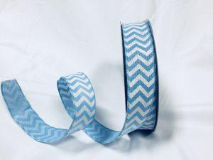 faux burlap ribbon