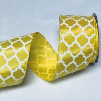daffodil satin ribbon