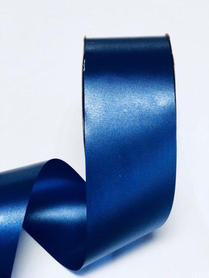 Navy Blue Waterproof Satin Ribbon