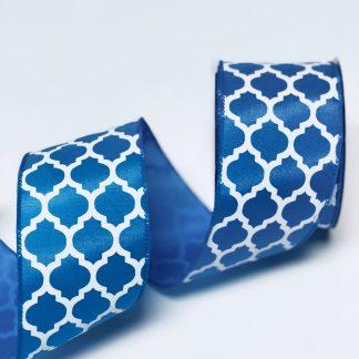 turquoise satin ribbon
