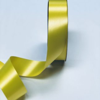 Daffodil Waterproof Satin Ribbon Narrow