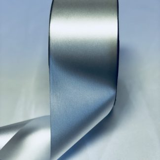White Waterproof Satin Ribbon