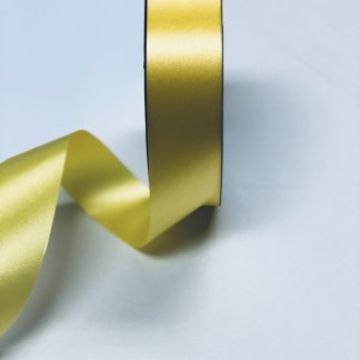 Yellow Waterproof Satin Ribbon Narrow