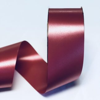Imperial Red Waterproof Satin Ribbon