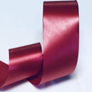 Lava Red Waterproof Satin Ribbon