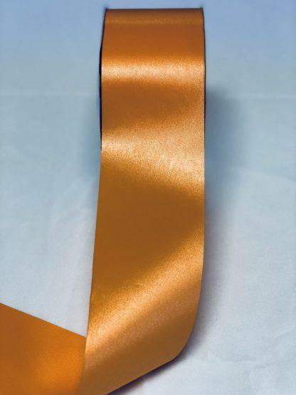 Tropical Orange Waterproof Satin Ribbon