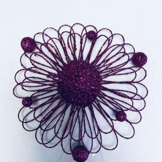 Wire Sunflower Ornament