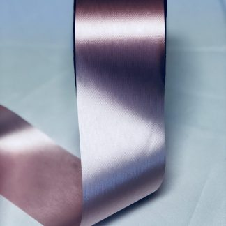 Pink Waterproof Satin Ribbon