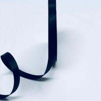 black satin acetate corsage ribbon