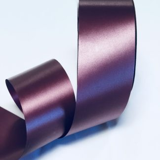 Burgundy Waterproof Satin Ribbon