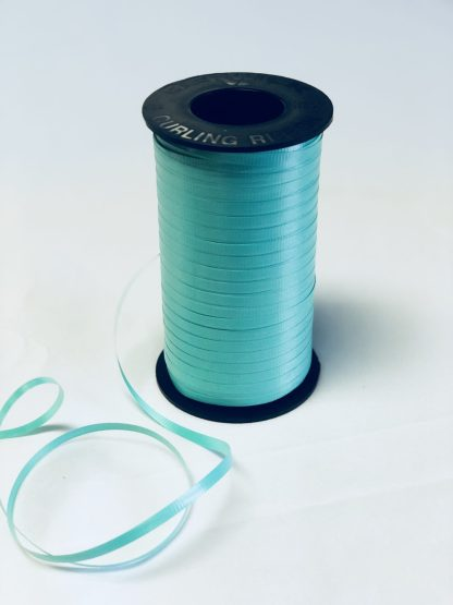sea green curling ribbon