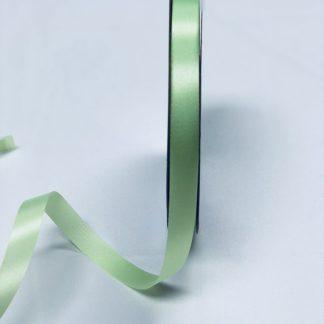 lime green satin acetate corsage ribbon