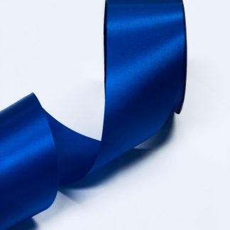 royal blue satin acetate ribbon