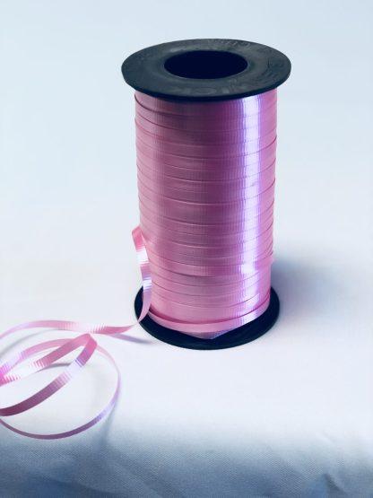 azalea pink curling ribbon