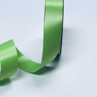 Citrus Green Waterproof Satin Ribbon Narrow