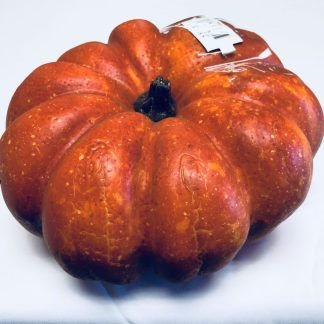 Orange Flat Foam Pumpkin