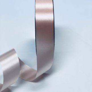 Peach Waterproof Satin Ribbon Narrow