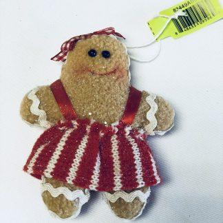 gingerbread doll ornament