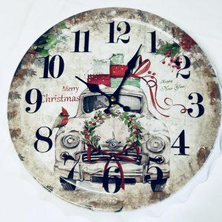 merry Christmas clock