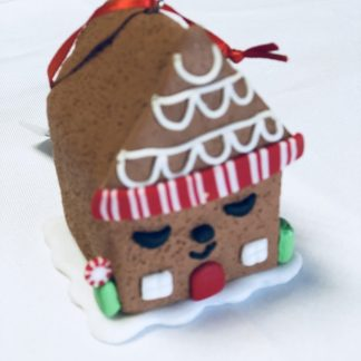 Gingerbread House Ornament Small