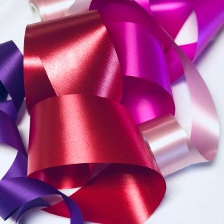 Waterproof Satin Ribbon