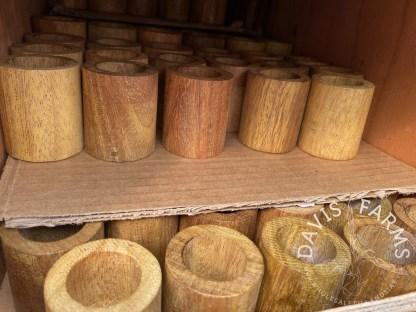 Oak wood planters