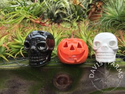 Halloween ceramic pots