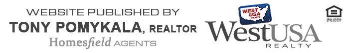 Site published by Tony Pomykala, REALTOR of West USA Realty's Homesfield Agents