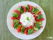 Cottage Cheese Caprese