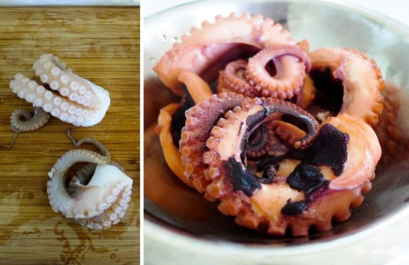 How to Make Marinated Octopus