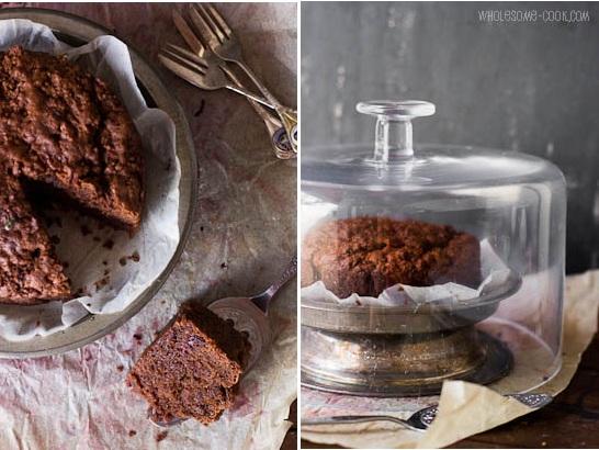 Vegan Beetroot Chocolate Cake Gluten-free