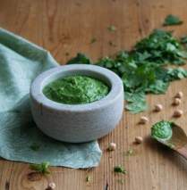 Chickpea and Coriander Chutney (By Sneh | Cook Republic)
