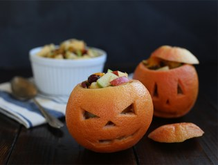 Grapefruit Jack O Lanterns | say yes to hoboken