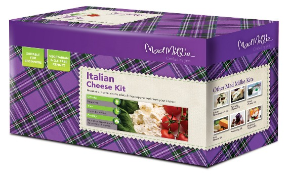 Mad Millie Cheese Making Kit