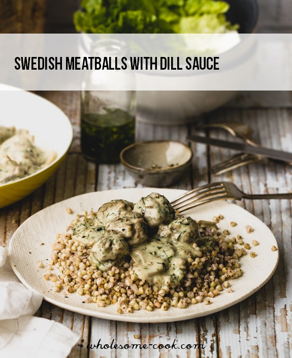 Swedish-Meatballs-with-Dill-Gravy-and-Buckwheat