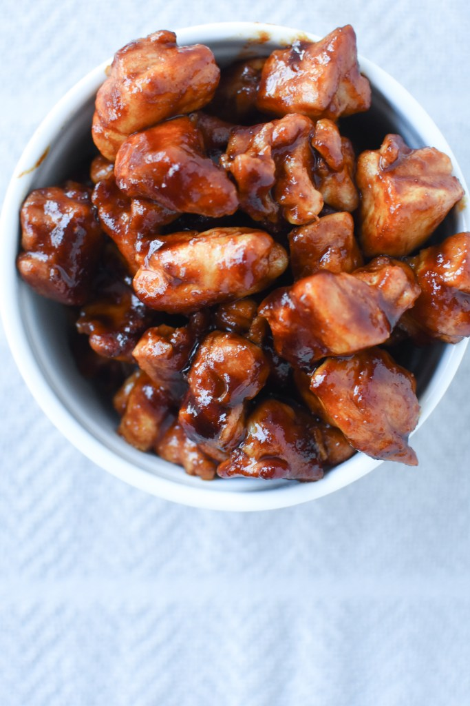 Whole30 & Paleo BBQ Chicken Bites | Wholesome-joy.com
