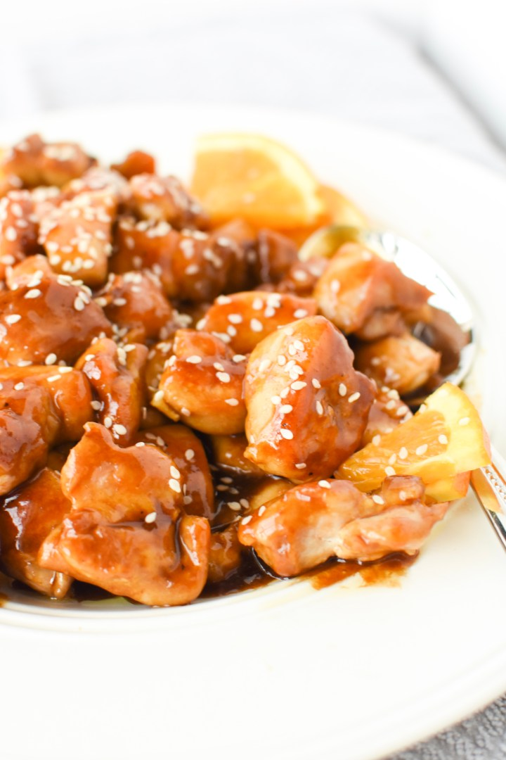 Paleo & Whole30 Orange Chicken | Wholesome-joy.com