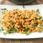 Meatless Monday: Cranberry Vegetable Barley Stir Fry